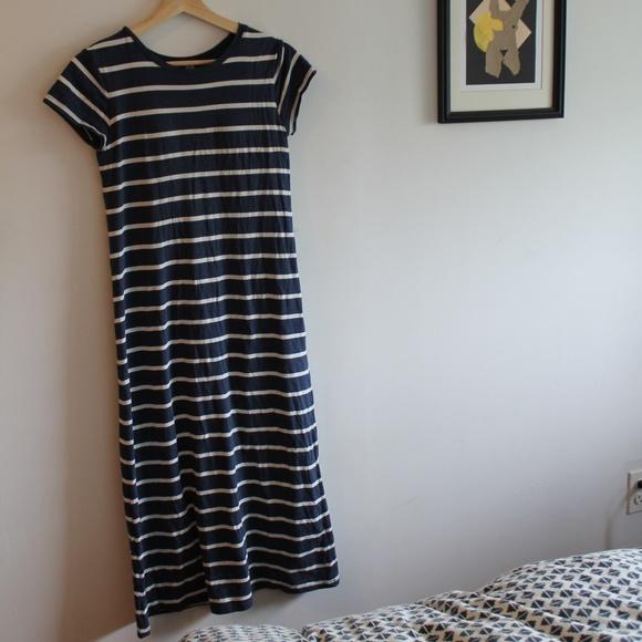 fc7a5bbd99e42 Uniqlo Women Short-Sleeve Long Bra Dress. M 5b00c3d25512fd10d2bcb78a